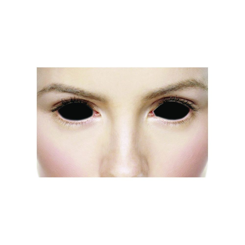 mesmereyez xtreme fancy dress halloween contact lenses - sclera