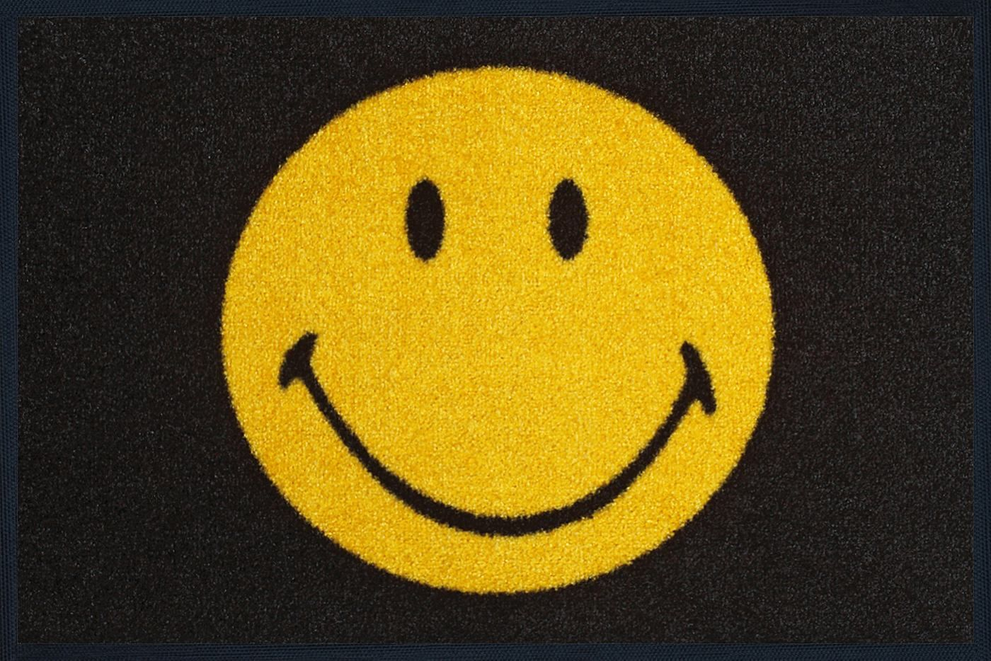 Schmutzfangmatte Wash smiley rug smiles all style give a smile to your