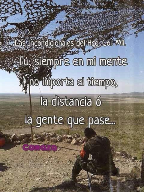 Cna Amor Militar Frases De Soldados Amor Militar Amor Y Frases