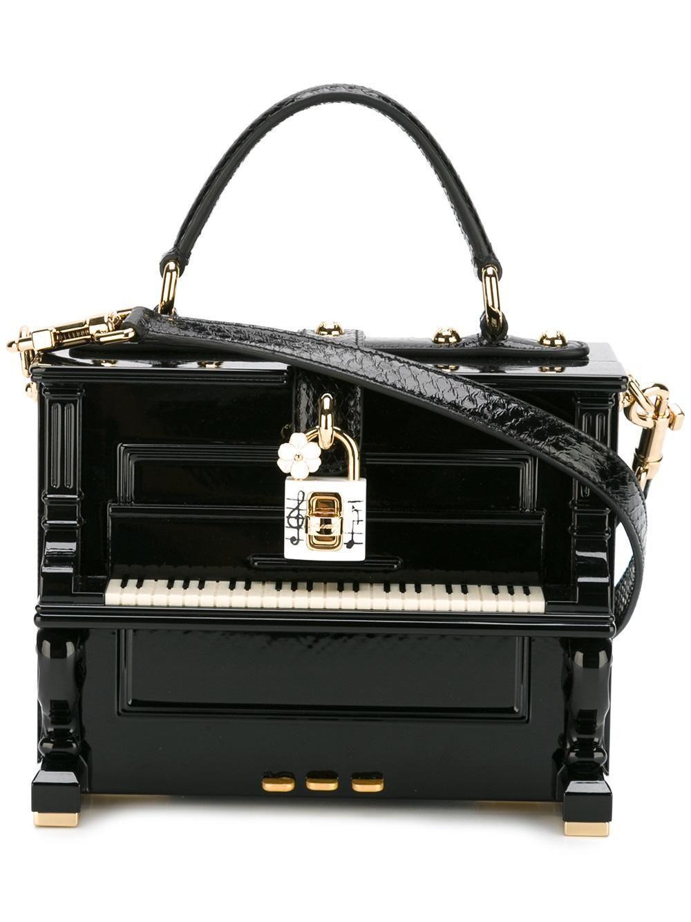 dead4b771e4 DOLCE   GABBANA Dolce box piano tote