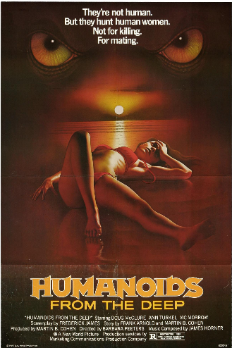 Pin by Mike Gossard on horror movie posters Humanoids