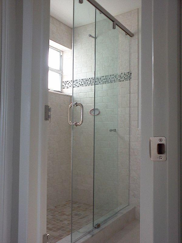 Single Sliding Door 105 Shower Doors Frameless Shower Doors