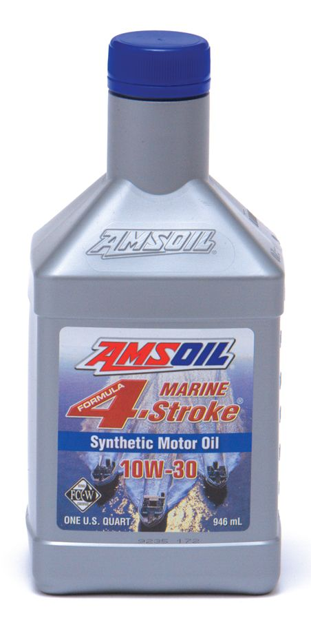 Amsoil 10w 30 Synthetic Formula 4 Stroke Marine Oil For Use In 4