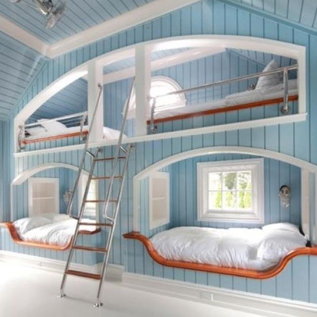 Pin By Madison Dean On Dream Rooms Pinterest Triple Bed