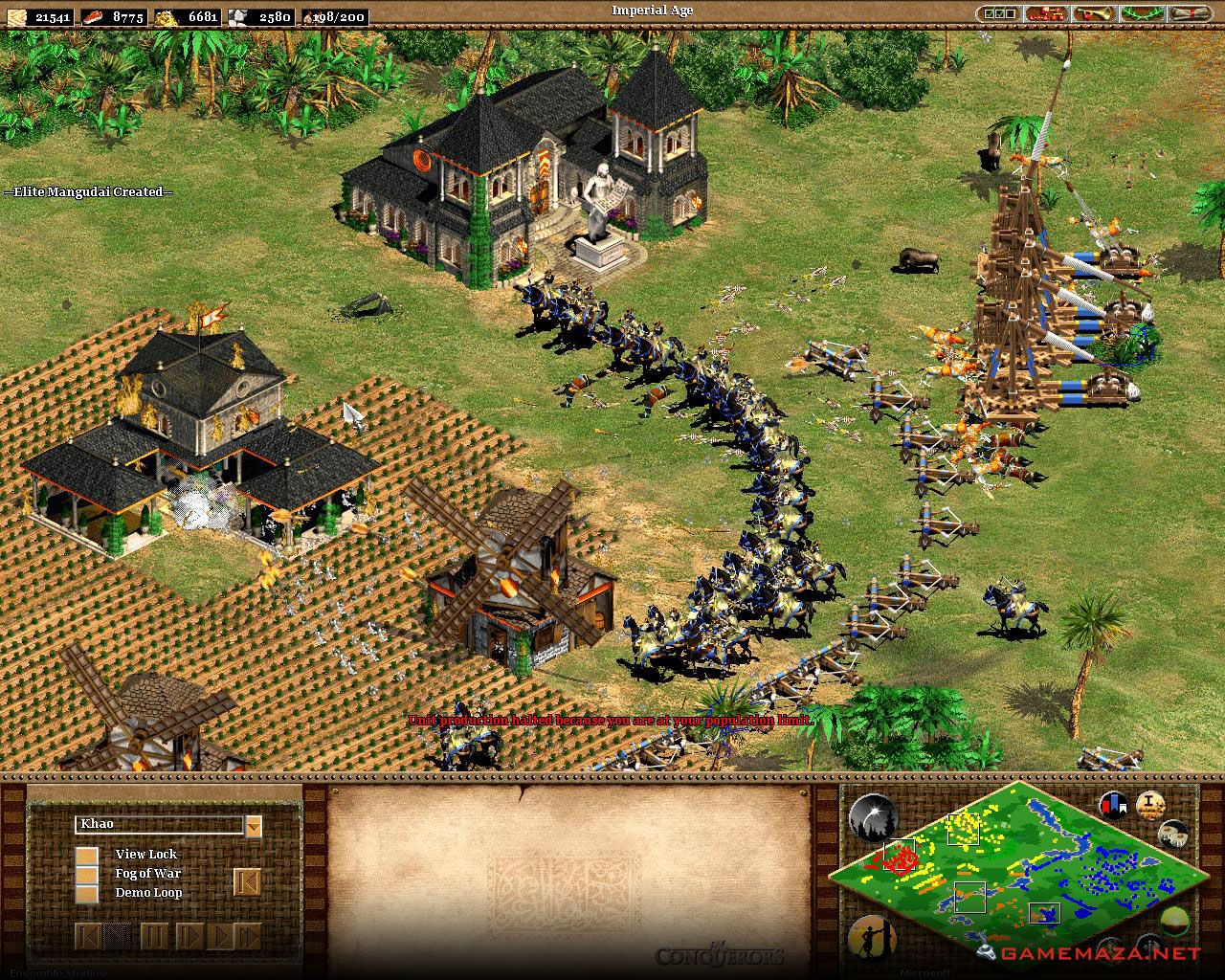 Age Of Empires Ii The Conquerors Free Download Age Of Empires