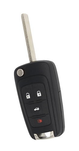 Buick 13500227 Oem 4 Button Key Fob Key Fob Replacement Key