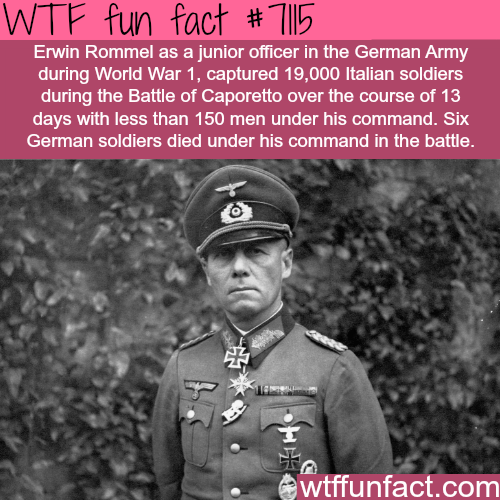 This Officer Captured  Enemies With  Men Fun Facts