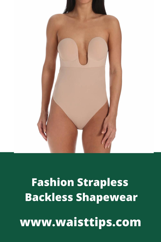 Fashion Strapless Backless Shapewear Shapewear Bras For Backless Dresses Backless Dress [ 1500 x 1000 Pixel ]