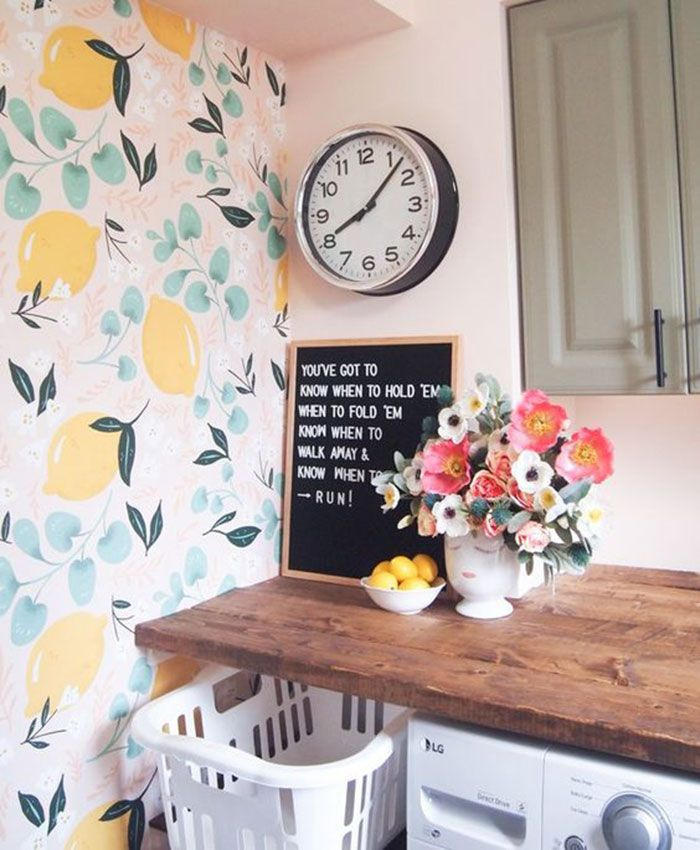 The Wallpaper Accent Wall Is The Budget Friendly Decor Idea You