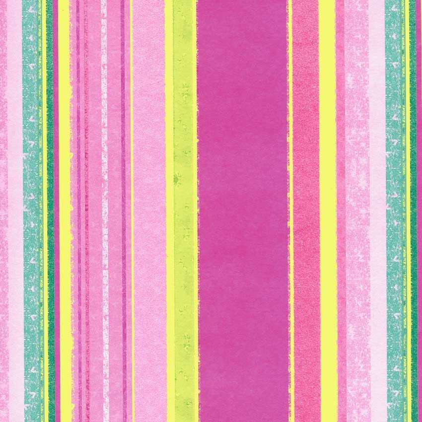 7343 Pink Multi Size Stripes Backdrop
