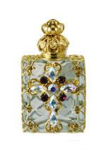 Jeweled Perfume Bottles Hand Made In Europe. http://www.victorie-inc.us/perfume_bottles_2.html