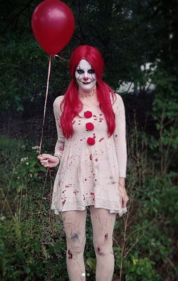 Quatang Gallery- 45 Funny And Scary Diy Halloween Costumes Ideas Fashiondioxide Pennywise Halloween Costume Popular Halloween Costumes Scary Halloween Costumes Diy