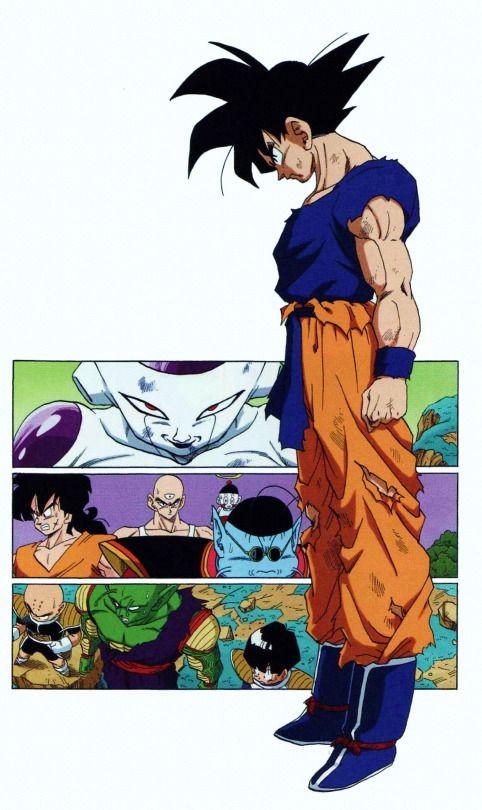Tumblr Manga Dbz Goku Vs Freeza Anime
