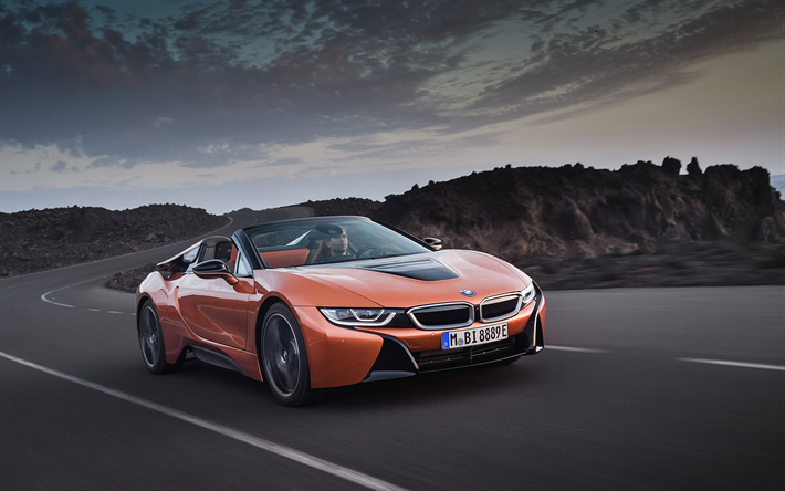 Download Wallpapers Bmw I8 2019 Sports Electric Car New I8