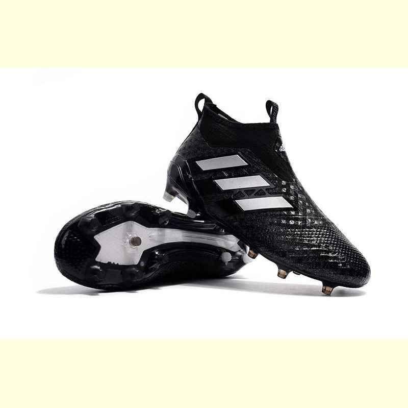 Botas De Futbol Adidas ACE 17+ Purecontrol FG Dorado Plateado Negro Tienda 9ee1e867679be