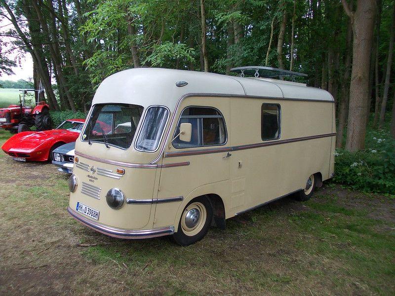 Tempo Matador 1400 Camper 1954 Camper Recreational Vehicles Camper Van