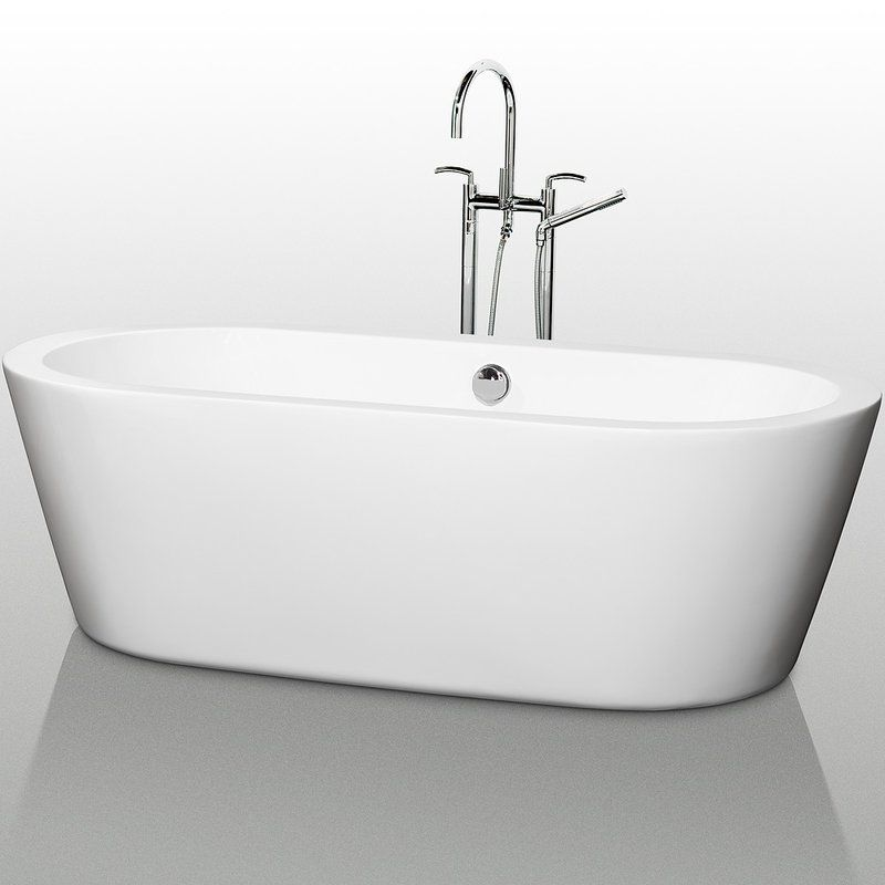 Acrylic bath | Bathroom | Pinterest | Soaking bathtubs, Bathtubs and ...