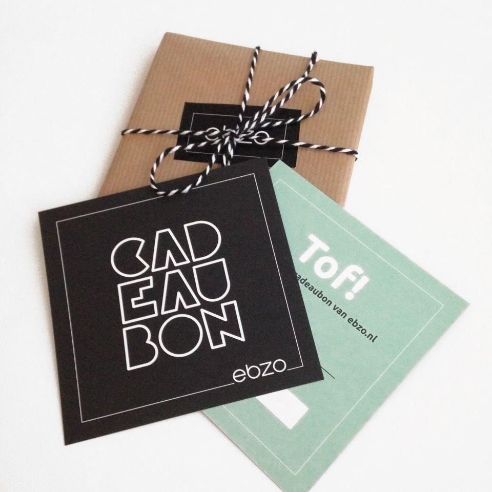Cadeaubon | Cadeaubon verpakking, Zelfgemaakte cadeaubon, Cadeaubonnen