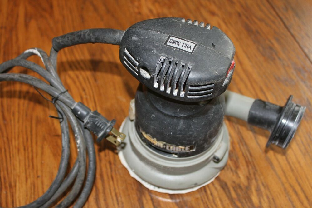 Porter Cable Quicksand 5 Random Orbit Sander Model 333 Electric 6 Foot Cord Portercable In 2020 Things To Sell Porter Cable Electric 6