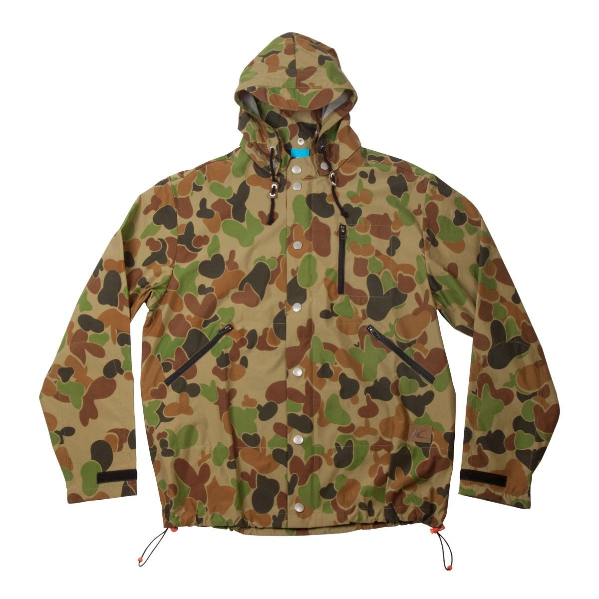 Duck camo rain mac | King Apparel British Streetwear