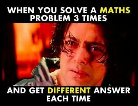 I hate maths!