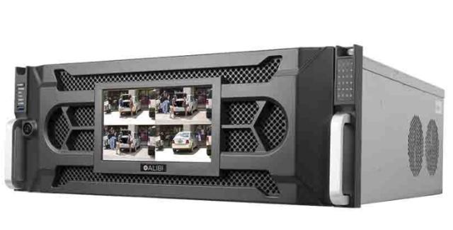 Alibi 7100 Series 128 Channel Nvr With Raid Recording Resolution