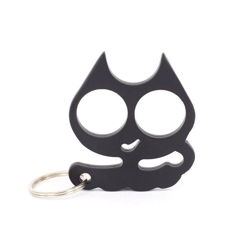 Alloy Cat Self Defense Keychain With Key Ring Self Defense