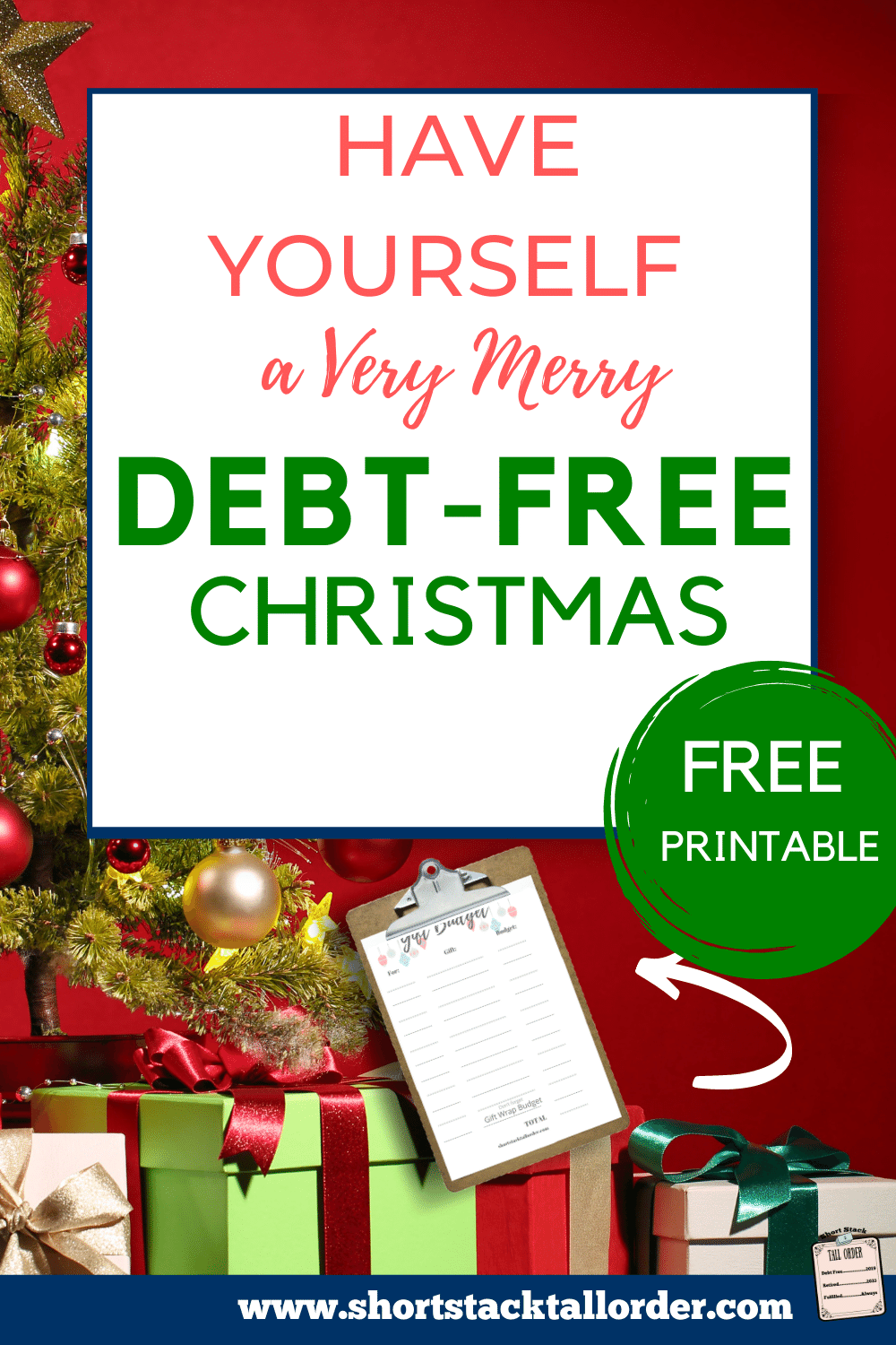 Christmas 2020 Debt Free Have a Very Merry Debt Free Christmas! in 2020 | Debt free, Free