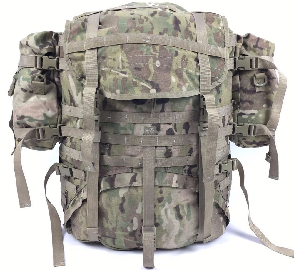 US Army MOLLE II OCP Scorpion W2 Multicam Camo Large Rucksack Military USGI de9ed9108fb6a