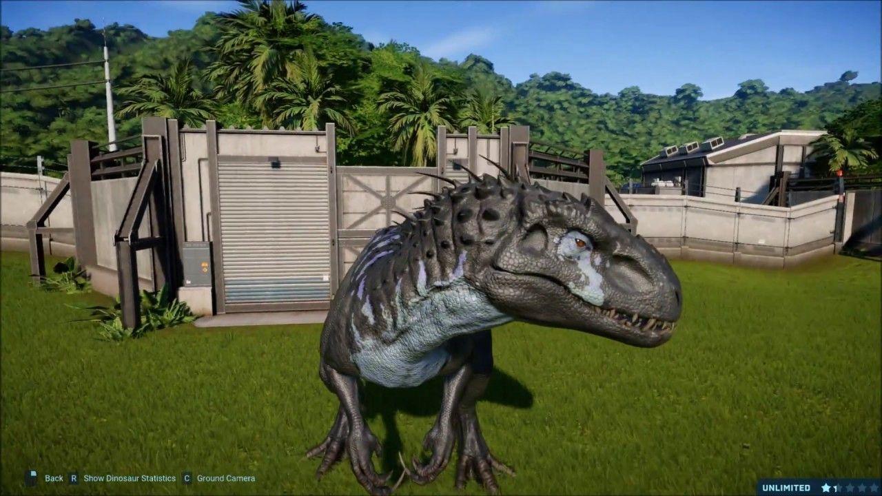 All Indominus Rex Skins Jurassic World Evolution