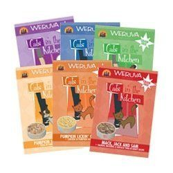 Weruva Cats in the Kitchen Variety Pack Cat Food Pouches (6, 3-oz. Pouches)…