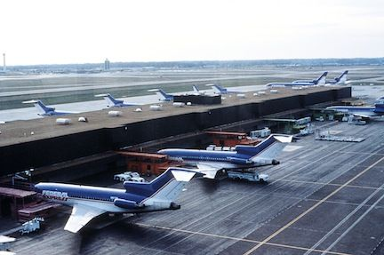 The Fedex B727 Fleet At The Memphis Hub Boeing 727 Cargo