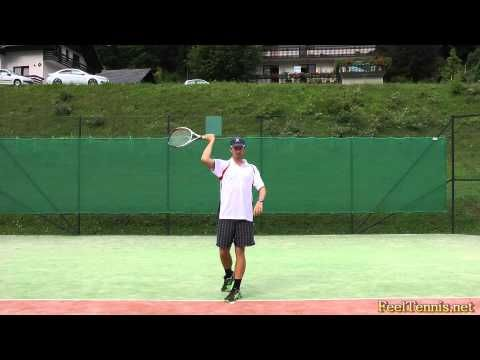 ▶ How To Hit Fast Tennis Serves - Tips And Drills - YouTube