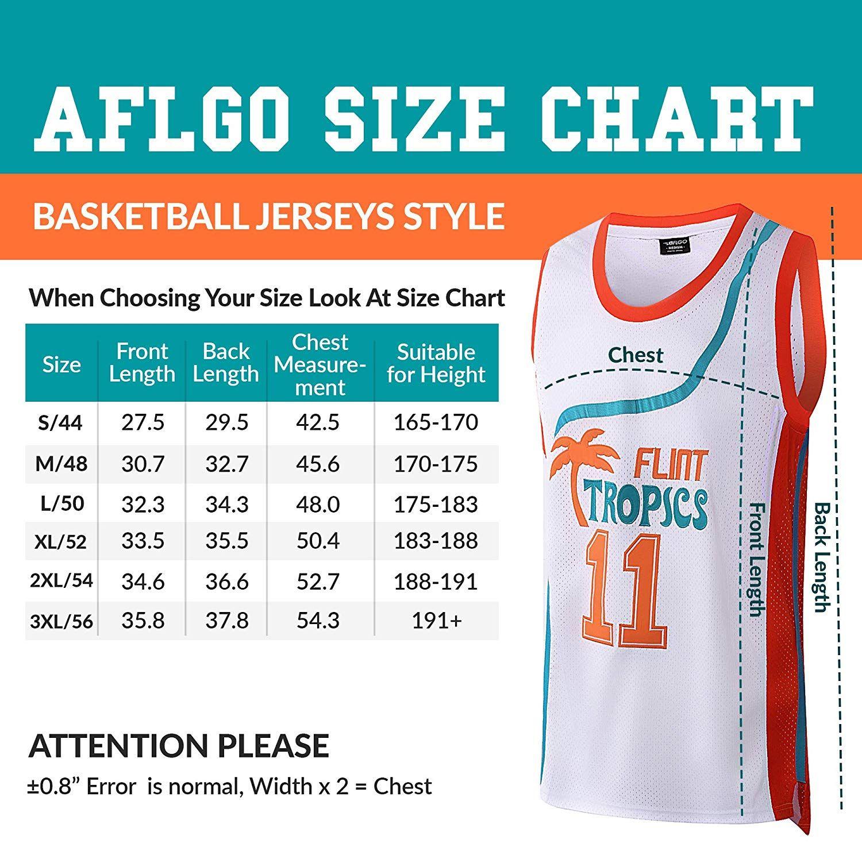 Aflgo Monix 11 Flint Tropics Basketball Jersey Jersey Fashion Jersey Basketball Jersey