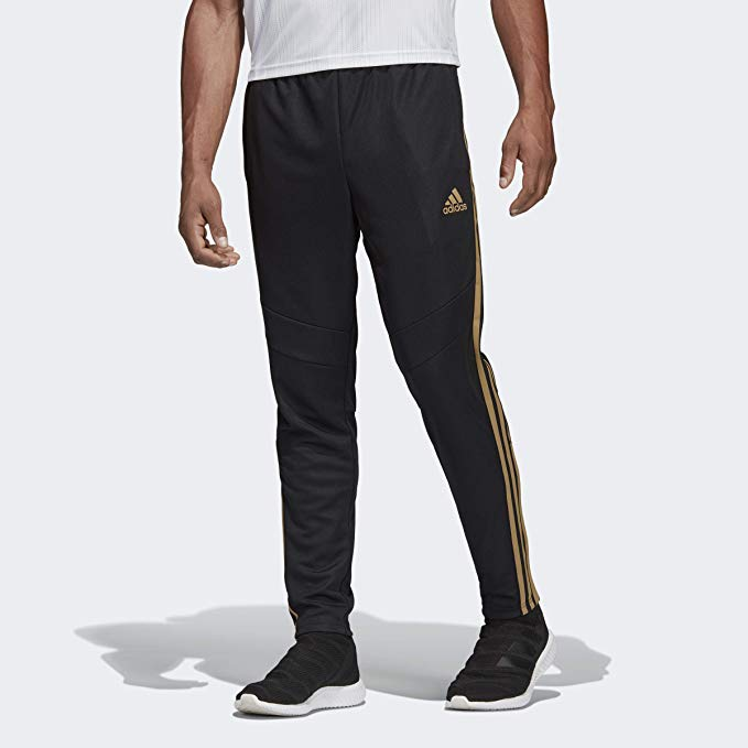 adidas Men's Soccer Tiro 19 Training Pant, Black