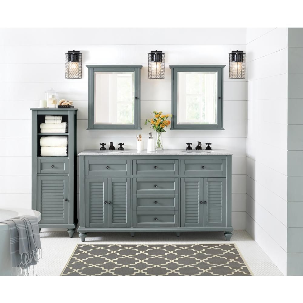 Home Decorators Collection Hamilton 18 in. W x 52-1/2 in. H Bathroom ...