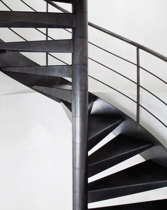 escalier en colima on m tallique photo s25 gamme initiale spir 39 d co contemporain marches. Black Bedroom Furniture Sets. Home Design Ideas