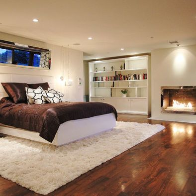Basement Apartment Design Ideas Pictures Remodel And Decor Contemporary Bedroom Basement Bedrooms Basement Master Bedroom