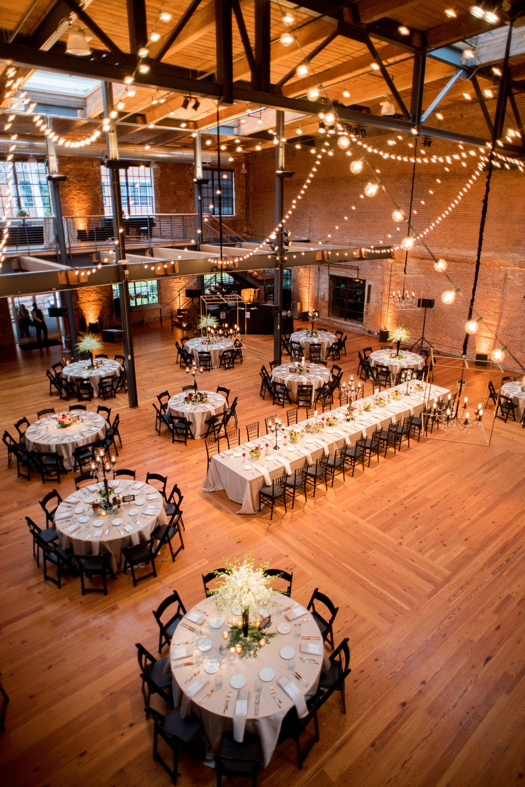 Art Deco Inspired Bay 7 Wedding Photos In Durham Nc In 2020 Industrial Wedding Reception Wedding Reception Venues Indoor Wedding Receptions