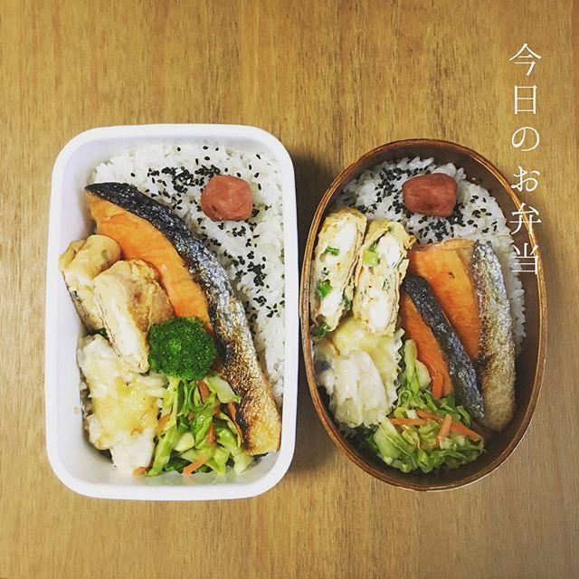 3月14日(火)お疲れさま。 遅くなったので、早速今日のお弁當。 焼き鮭 ねぎ入り卵焼き マカロニグラタン ...