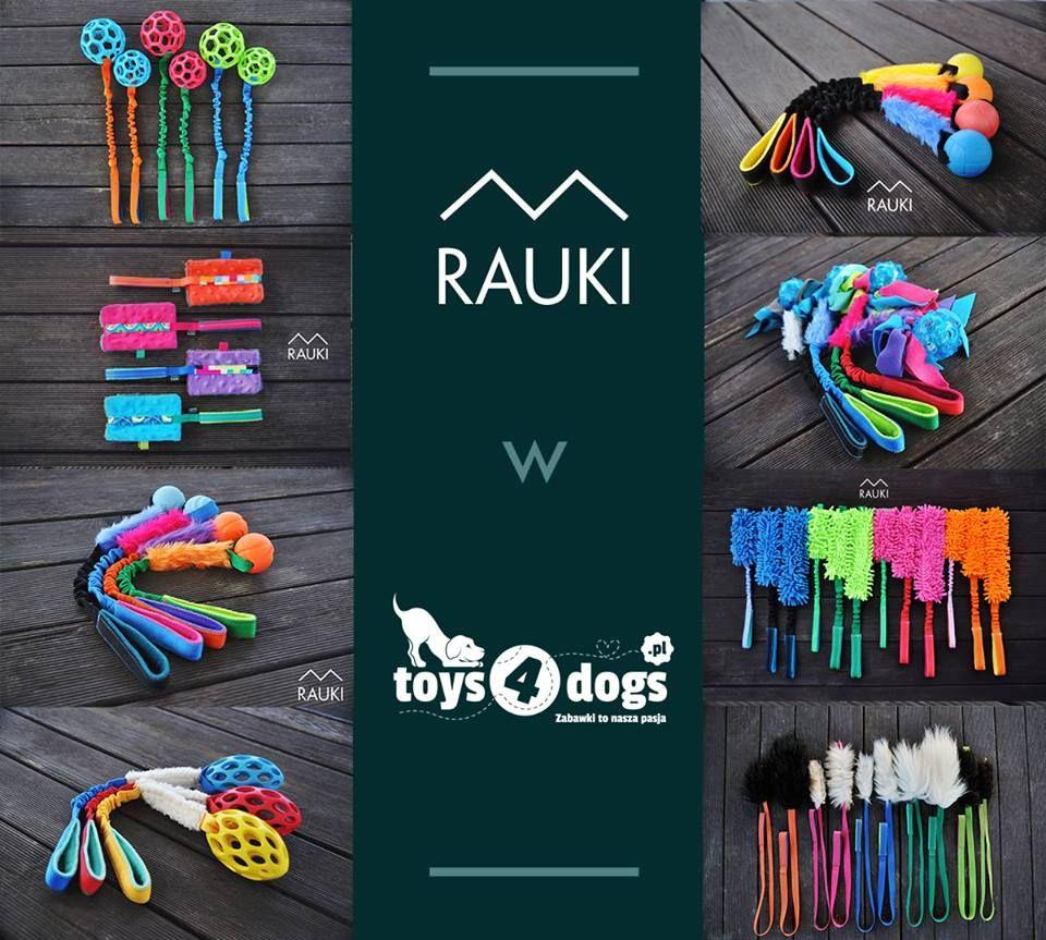 Rauki zabawki do przeciągania dla psa. szarpak toys4dogs