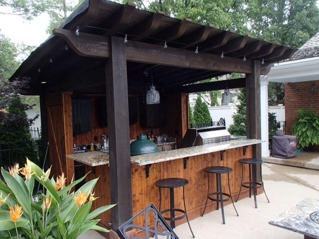 9 Classy Outdoor Bar Ideas You'll Love   Outdoor patio bar ...