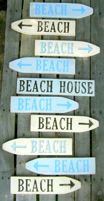 To the beach...