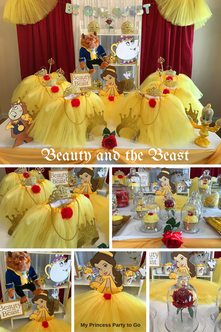 Planning a Princess Birthday Party? Our new Beauty and Beast Party ...