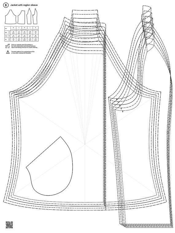 Patrones para fieltro húmedo por LybaV en Etsy | costura | Pinterest ...