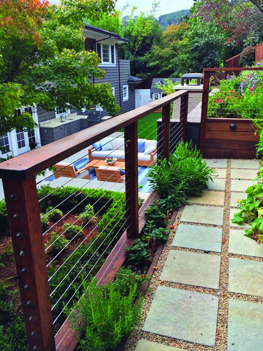Forms Of Attractive Deck Barriers   Wood railing, Backyard ...
