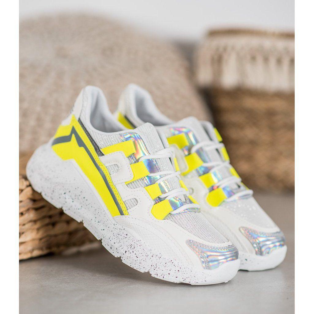 Seastar Sneakersy Z Brokatem Biale Wielokolorowe Adidas Sneakers Adidas Superstar Sneaker Sneakers