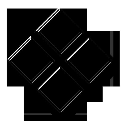 Icon Tile Work : Four diamond shapes icon  icons etc art quot