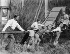 """Storing the Harvester, Sydney"" 1900"
