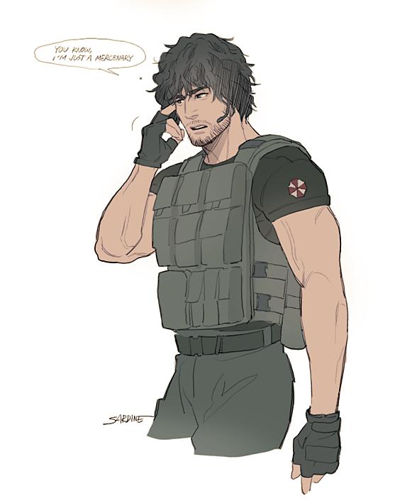 Sardine On In 2020 Resident Evil Carlos Resident Evil